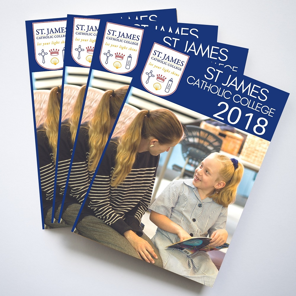 Yearbook Printing for Schools A4 St James School