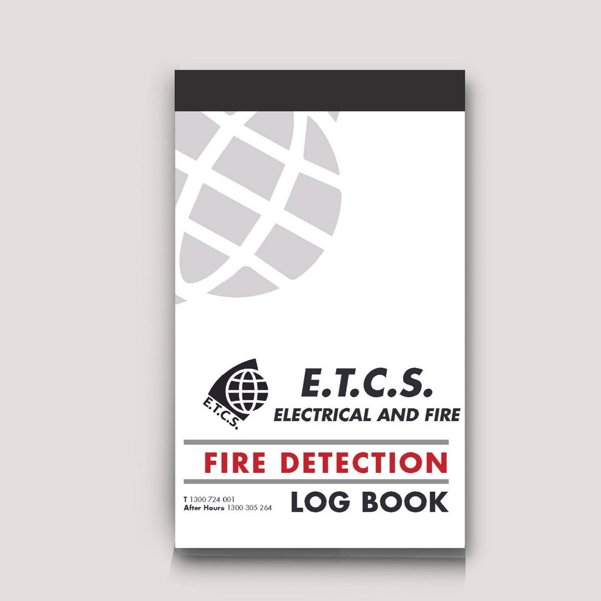 Custom NCR Books Fire detection log book NCR book