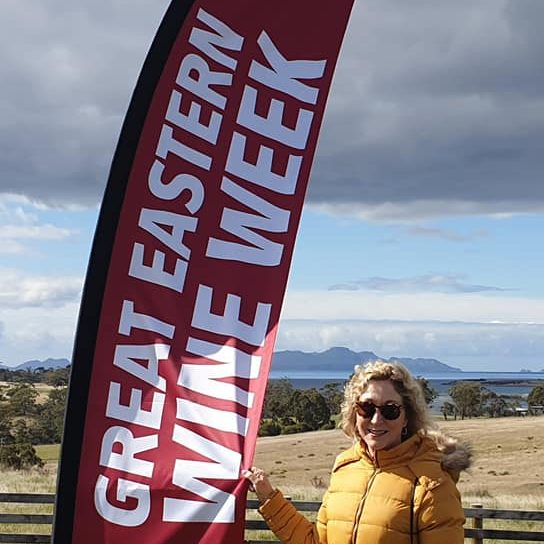Event Feather Flag Great Eastern Wine Week